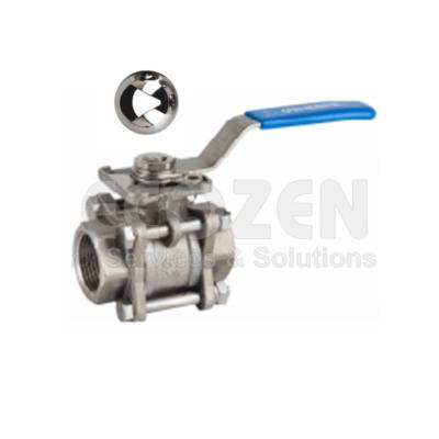 """Van bi 3 thân V-port Genebre 2025V-""""V"""" control ball valve"""