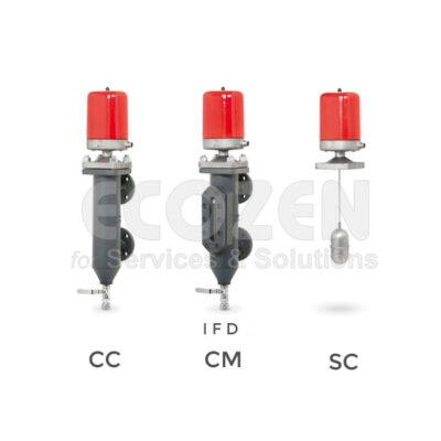 Phao báo mức lò hơi VYC - Boiler Level Controller 076