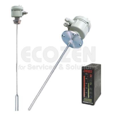 Cảm biến điện dung báo mức chất lỏng - Capacitance Level Transmitter Model EB RF