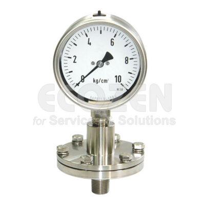 Đồng hồ áp suất màng nối ren Nuova Fima Model DT110