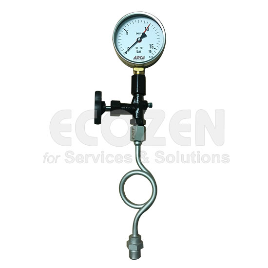 đồng hồ đo áp suất adca