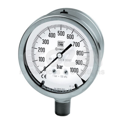 Đồng hồ áp suất Nuova Fima Model MGS20 DN100-150