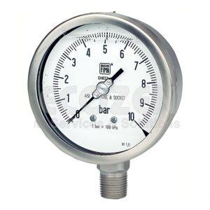 Đồng hồ áp suất có dầu MGS18