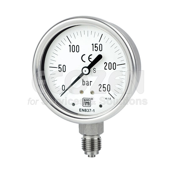Đồng hồ áp suất Nuova Fima Model MGS18 DN63
