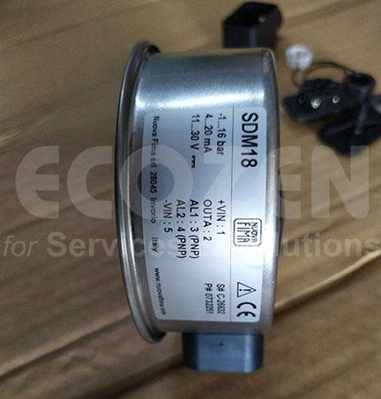Đồng hồ áp suất điện tử Nuova Fima Model SDM18