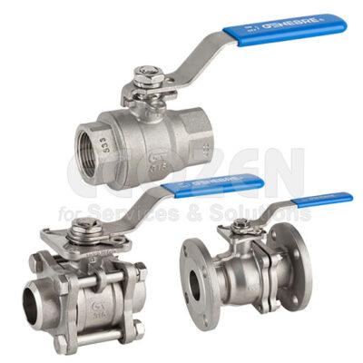 Van bi tay gạt - Ball valve