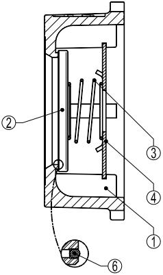 Cấu tạo của Van một chiều Adca RD40