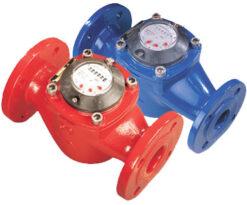 Đồng hồ nước với trục cánh quạt thằng đứng - Water Meters with Vertical Impeller Axle