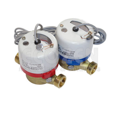 Đồng hồ đo nước phát xung - Single-Jet Water Meters with Pulse Transmitters Model JS –NK-01/ NKP-01