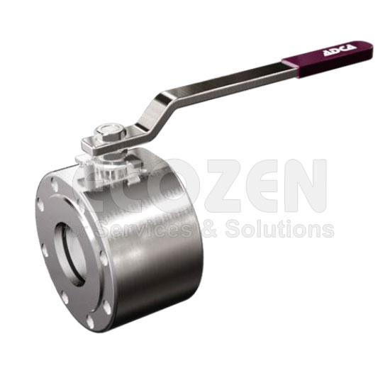 Van bi tay gạt - Wafer ball valves Model MWS1