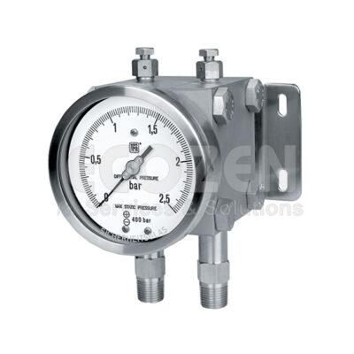 Đồng hồ chênh áp - Differential Pressure Gauges Model MD17