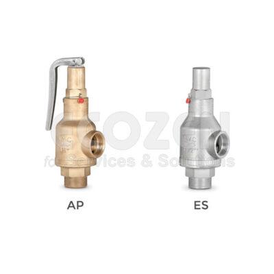 Van an toàn VYC Model 095ES cho nước, khí - Safety valve Model 095AP/095ES