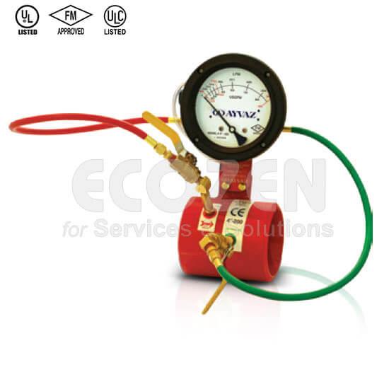Đồng hồ kiểm tra lưu lượng chữa cháy Venturi - Ayvaz