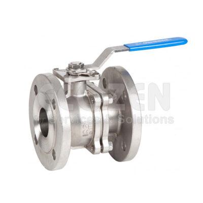Van bi inox mặt bích 2 mảnh Genebre 2528 - 2 pcs full bore ball valve