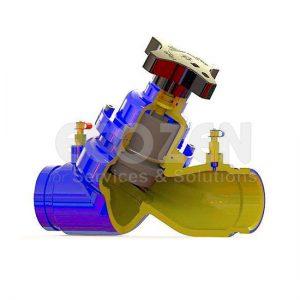 Van chênh áp - Van cân bằng balancing valve