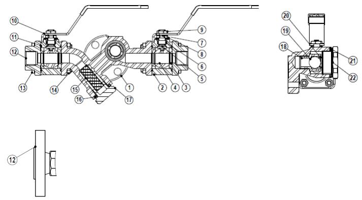 Trạm bẫy phao Adca Model CTS4U