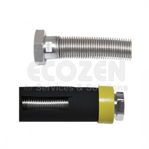 Ống nối mềm Inox - Dây nối mềm Inox có vỏ bọc   Nhập khẩu chính hãng