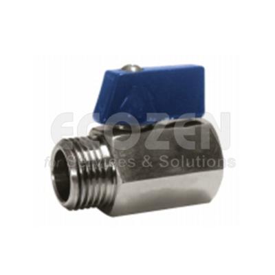 Van bi 1 mảnh Genebre 2005- 1 pc reduced bore ball valve M-F