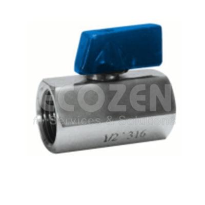 Van bi 1 mảnh Genebre 2006- 1 pc reduced bore ball valve F-F