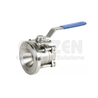 Van bi 3 mảnh Genebre 2052- Tank bottom full bore ball valve