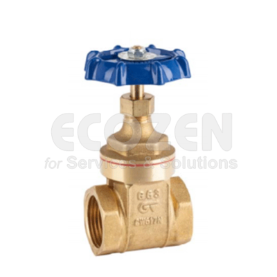 Van cổng đồng Genebre 3221- Brass gate valve