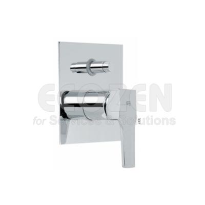 Van điều chỉnh nhiệt độ âm tường kết hợp bộ chuyển dòng Model: 63116 26 45 66- BUILT IN SINGLE LEVER BATH WITH MIXER DIVERTER