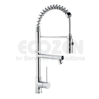 Vòi bếp nóng lạnh 65212 18 45 66 - SINGLE LEVER WITH SPRING AND SPOUT