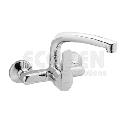 Vòi bếp nóng lạnh 61190 28 45 66 - WALL SINGLE-LEVER SINK MIXER 15CM SHORT SPOUT