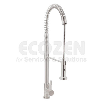 Vòi bếp nóng lạnh 65211 18 45 66 - SINGLE LEVER MIXER WITH SPRING