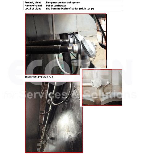 Ứng dụng của cảm biến nhiệt độ công nghiệp