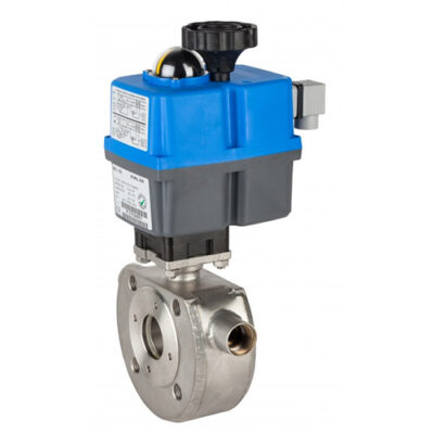 1 piece ball valve with heating chamber 5919
