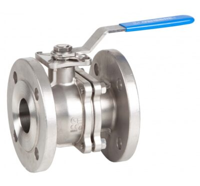 Ball valves 2 pcs full bore ball valve fire-safe design direct mounting for actuators