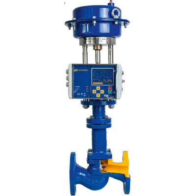 Zetkama Bellow control valve with pneumatic actuator and positioner 236