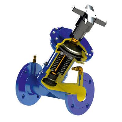 Static balancing valve 224