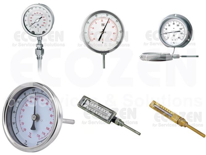 các loại đồng hồ đo nhiệt độ