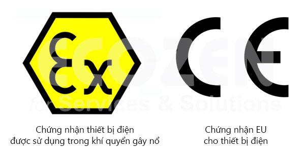 Tiêu chuẩn CE & ATEX
