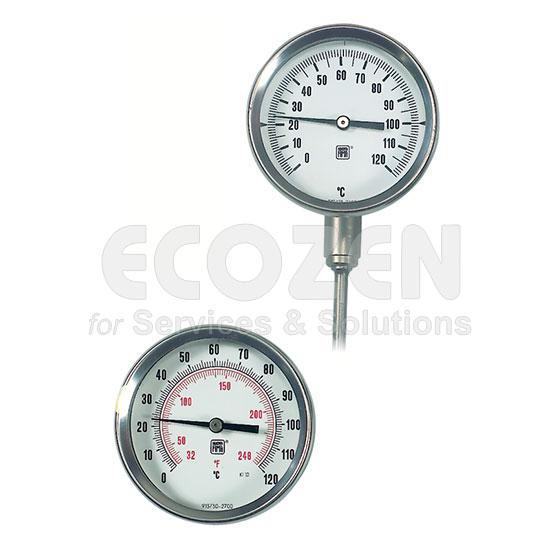 Đồng hồ đo nhiệt độ lò sấy, lò hơi, nước nóng