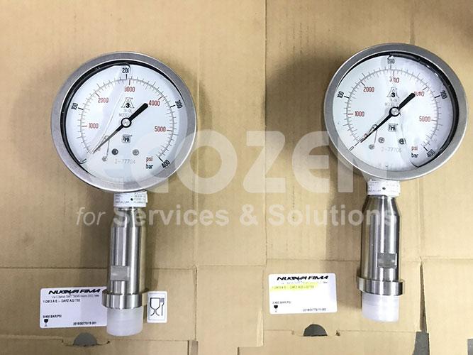 Hình ảnh thực tế đồng hồ đo nhiệt độ công nghiệp