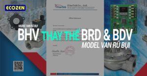 Van rũ giũ bụi Finetek Model BHV thay thế Model BRD và BDV