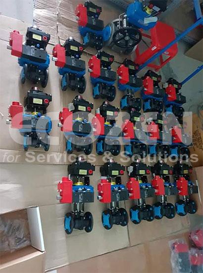 pneumatic actuator valve