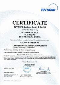 chứng nhận hãng zetkama
