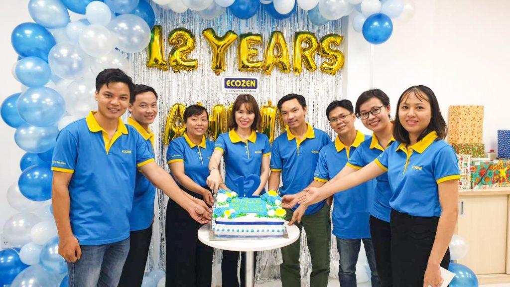 ecozen 12 năm thành lập