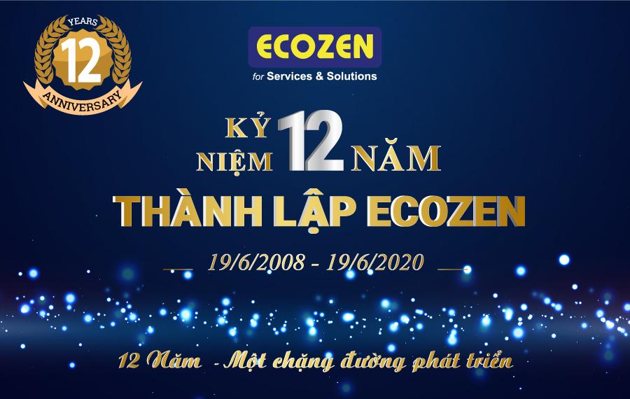 kỷ niệm 12 năm thành lập ECOZEN