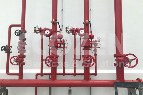 trong hệ thống phòng cháy chữa cháy - Ảnh thực tế 2