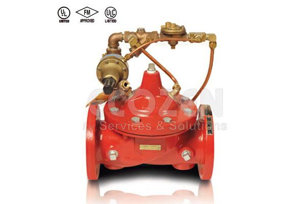 Van xả áp trong hệ thống phòng cháy chữa cháy