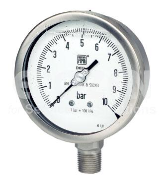Đồng hồ áp suất Nuova Fima có dầu Model MGS18
