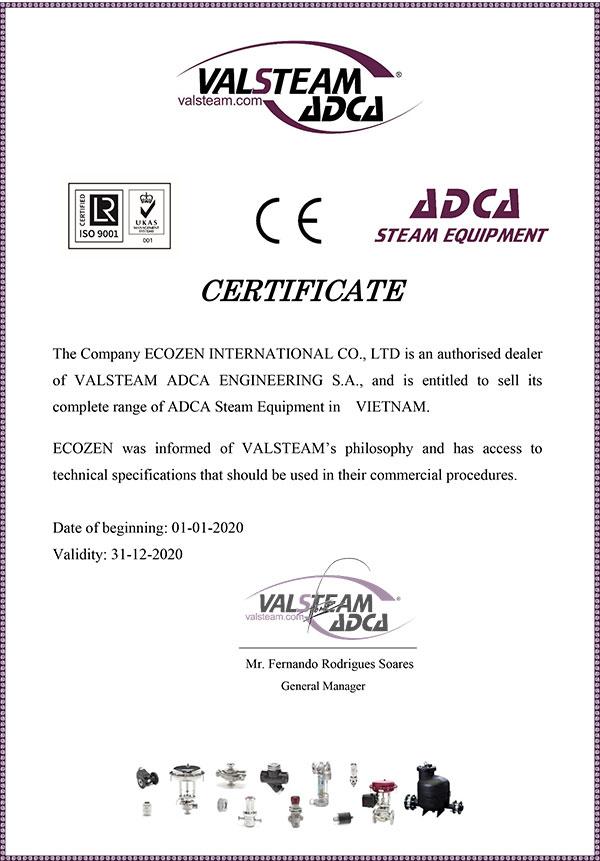Giấy ủy quyền Adca